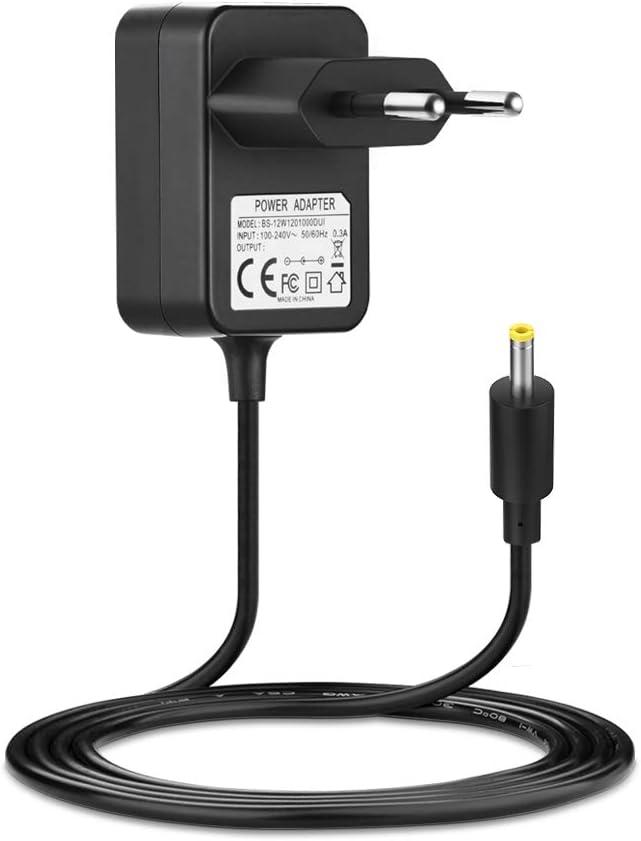 BERLS Adaptador de Corriente 6V 1A Fuente de Alimentación para Tensiómetro Omron M2 Basic,M2, M3, M3 Comfort, M6 Comfort, M7 Cargador