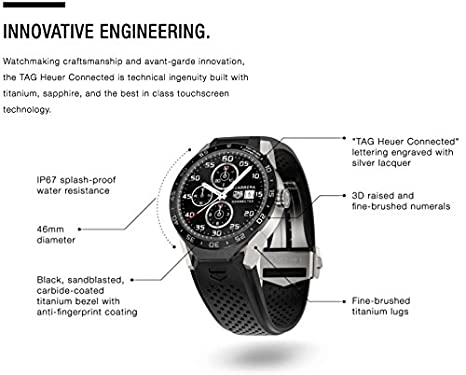 TAG Heuer Connected - Reloj inteligente, de lujo (Android ...