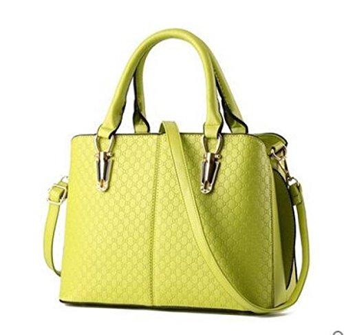 ZM-2018 Nuevo Bolso Señora Bolsos Pure Color Black Shoulder Bags Diagonal Package Ms Big Bag 4