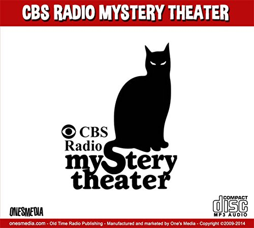 CBS RADIO MYSTERY THEATER - Old Time Radio 16 mp3 CD-ROM - 1399 Shows - 2 BOX SET - Total Playtime: 1069:05:10