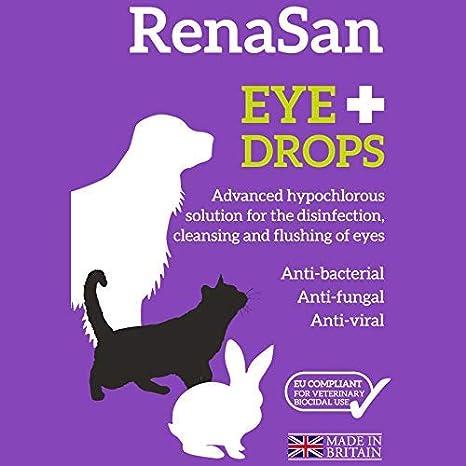 RenaSan Gotas para los Ojos 60 ml: para Todos los Animales ...