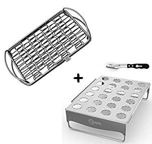 Amazon Com Fish Grill Basket Lg Jalapeno Rack