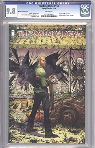 The Walking Dead (Image Comics) Issue #150 Cover D Tony Moore Variant - CGC Graded 9.8