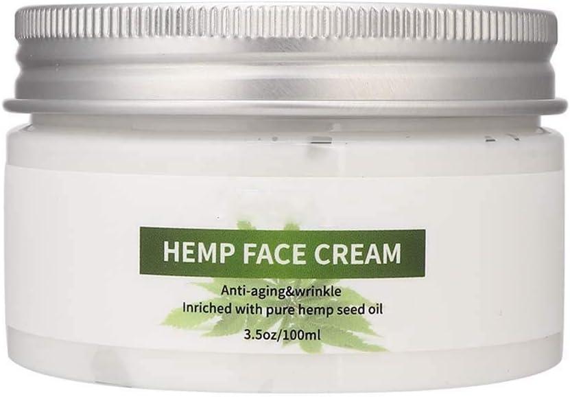 Liukouu Crema Facial, Aceite De Semilla De CáñAmo Melao 100ml Crema Facial Hidratante Reductora Antiarrugas ReduccióN De Arrugas
