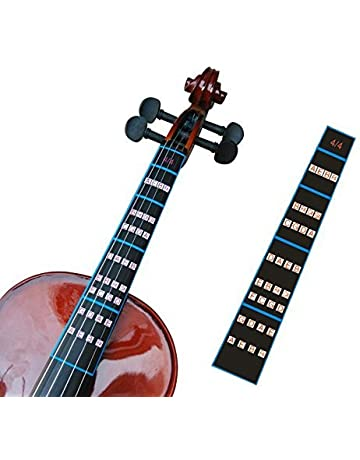 Guía de dedo para violín FineFun, pegatina para tabla de dedos tamaño 4/4