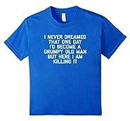 Grumpy Old Man T-Shirt funny saying sarcastic grandpa humor