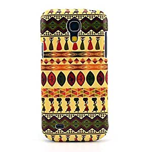 LIMME Carpet Pattern Hard Back Cover Case for Samsung Galaxy S4 Mini I9190