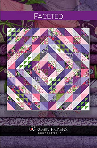 Robin Pickens Quilt Pattern - Faceted (75