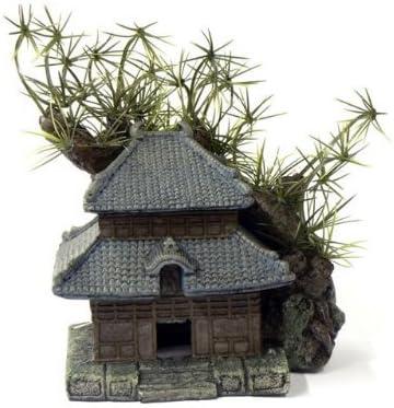 18/cm Cheeko Dreamscapes Trad Pagoda casa e Giardino Ornamento per Acquario