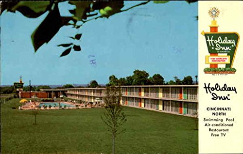 Holiday Inn. North, I-75, 2235 Sharon Rd. Cincinnati, Ohio Original Vintage - Rd Sharon