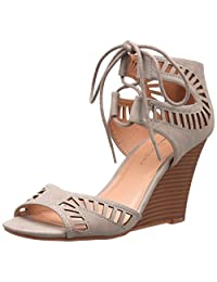 CL by Chinese Laundry Women's Bright Sun Nubuck Wedge Sandal