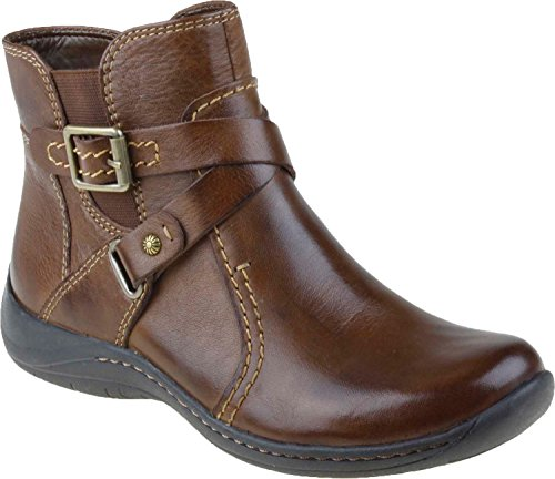 Earth Women's Ironwood Boot,Bark Calf Leather,5 M (Bark Leather Footwear)