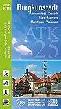 ATK25-C10 Burgkunstadt (Amtliche Topographische Karte 1:25000): Altenkunstadt, Kronach, Küps, Mainleus, Marktzeuln, Weismain (ATK25 Amtliche Topographische Karte 1:25000 Bayern)