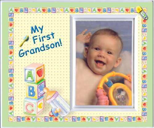 - My First Grandson Picture Frame Gift