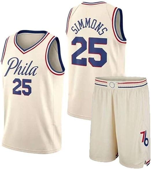 CHXY NBA Camiseta De Baloncesto para Hombre # 25 - NBA ...