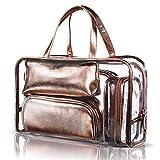 Clear Makeup Bag Set 5pc Cosmetic Bag Travel Toiletry Bag Women Deal