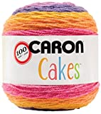 Caron Cakes Self Striping Yarn 383 yd 200 g (Funfetti)