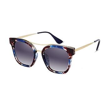 LIZHIQIANG Gafas De Sol Polarizadas Moda Marea Cuadrada ...