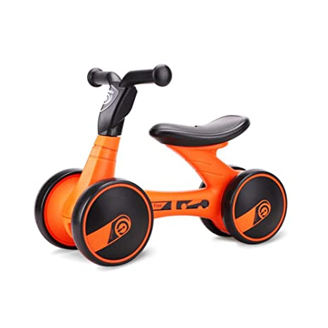 WYX Bebé Equilibrio Bicicleta niño Scooter 12-36 Mes niño no Pedal bebé Cuatro Ruedas