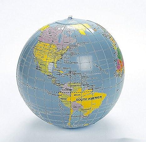 Amazon.com: marketworldcup – 3 Pelota hinchable de ayuda al ...
