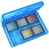 Universal Plastic Game SD TF Card Case Cover Organizer for Nintendo Switch (Blue)