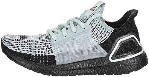 adidas Women's Ultraboost 19 w Running Shoe, blue tint/core Black ...