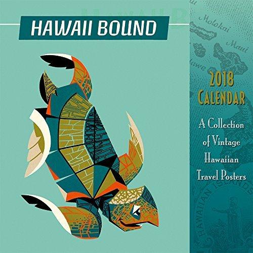 Hawaii 2018 Deluxe Wall Calendar - Hawaii Bound