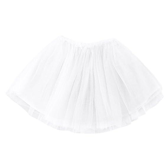 Vestido Niña, LANSKIRT Bebé Niña Princesa Pettiskirt Fiesta de Ballet Falda del Tutu Mini Vestido Trajes Ropa de Rendimiento: Amazon.es: Ropa y accesorios