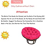 Mustbe Strong Papasan Chair with Fabric