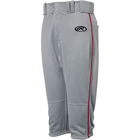 328ea27bfa3 Amazon.com   Rawlings Youth Launch Piped Knicker Pant   Sports ...