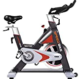 L NOW Pro Indoor Cycle Trainer LD577- Exercise Bike Stationary Commercial Standard (Red)