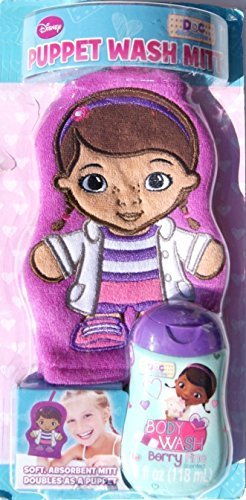Disney Doc McStuffins Wash Mitt Puppet - Body Wash Included