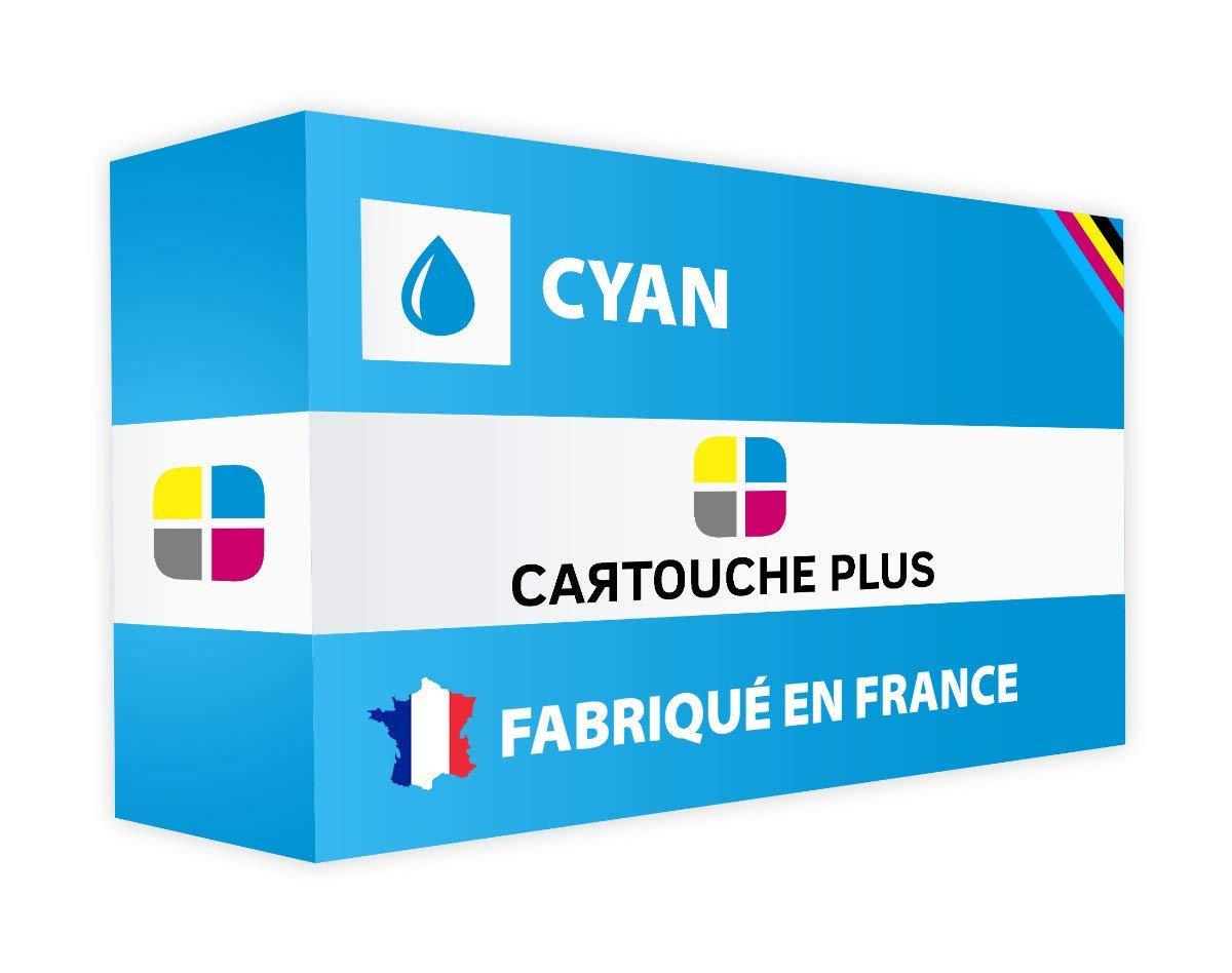 Cartucho Plus – Tóner Compatible para Fabricado Oki 44844507 Cyan – Fabricado para en Francia ed560c