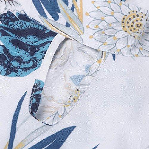Sundress Beach Scarpe Chiffon OHQ Sleeveless In Abbigliamento Sera Da Stampato Donna Con Abito Vestiti Senza Accessori Party Donna Orlo Smanicato Dress E Maxi Cerimonia Bianco Vestito Maniche aqpTSK