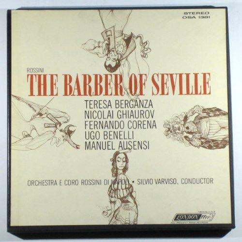 of Seville (Complete) / Orchestra E Coro Rossini Di Napoli, Silvio Varviso, Conductor ()