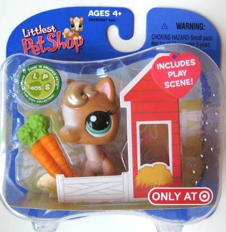 (Littlest Pet Shop Exclusive Horse #405)