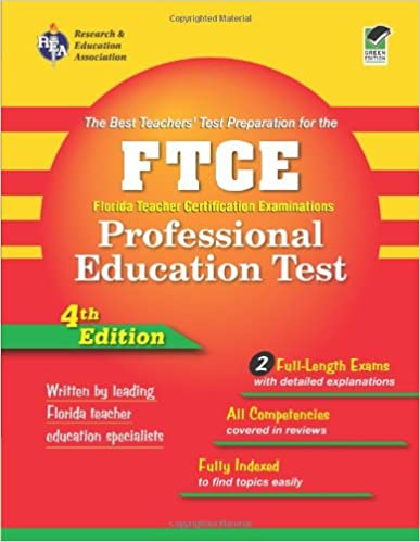ftce professional education test (rea) florida teacher certification ...