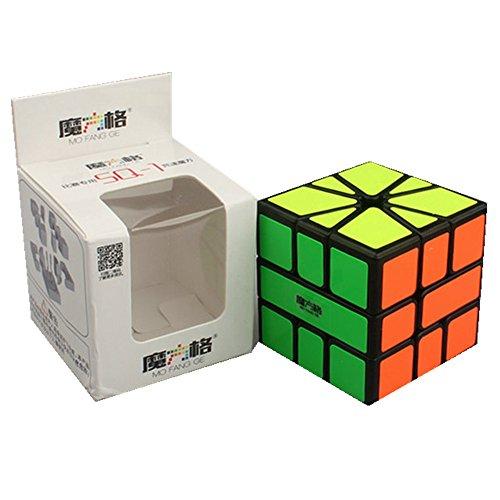 CuberSpeed QiYi Square-1 Black Magic cube MoFangGe MFG SQ-1 speed cube puzzle