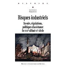 Risques industriels: Savoirs, régulations, politiques d'assistance, fin xviie-début xxe siècle (Histoire) (French Edition)