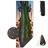 Trees Lake Reflections Yoga Mat - Advanced Yoga Mat - Non-Slip Lining - Easy To Clean - Latex-Free - Lightweight And Durable - Long 180 Width 61cm