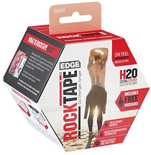 - RockTape H2O Edge Highly Water-Resistant Kinesiology Tape with Travel Case