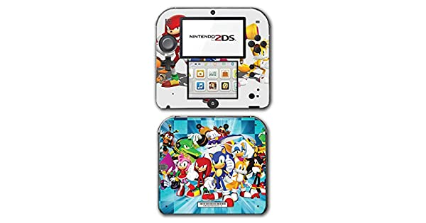 Amazon.com: Sonic Boom Hedgehog Tails Amy Rose Knuckles Eggman Shattered Crystal Fire & Ice Orbot Cubot Shadow Video Game Vinyl Decal Skin Sticker Cover for ...