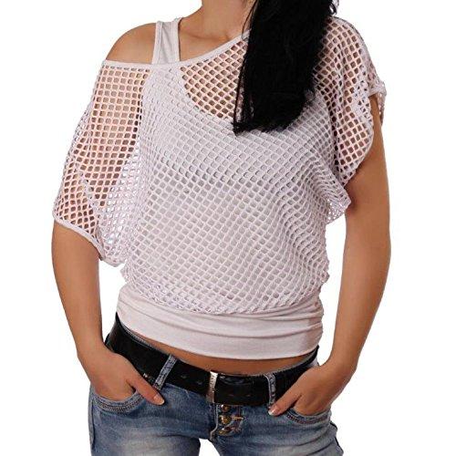 Adiyaro - Camiseta sin mangas - para mujer blanco