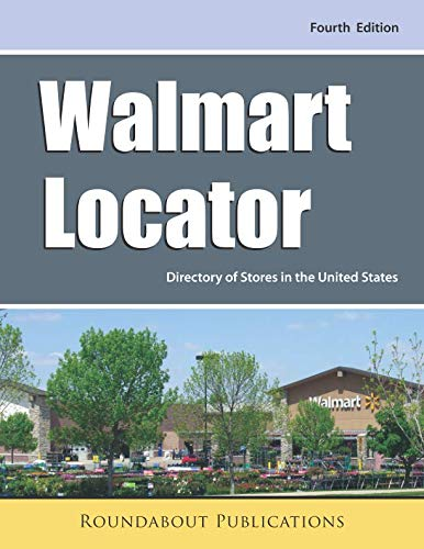 Walmart Locator, Fourth Edition: Directory of Stores in the United States is a great resource to find free camping in free campsites that have beautiful scenery and solitude because free camping in USA is the best kind of camping available.