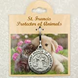 Pet Id Tag customizable with Name and Phone Number Saint Francis Protect My Pet
