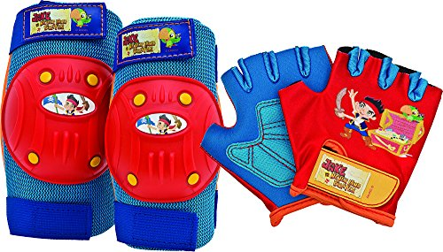 Bell Jake and The Never Land Pirates Protective Gear with Elbow Pads/Knee Pads and Gloves by Bell