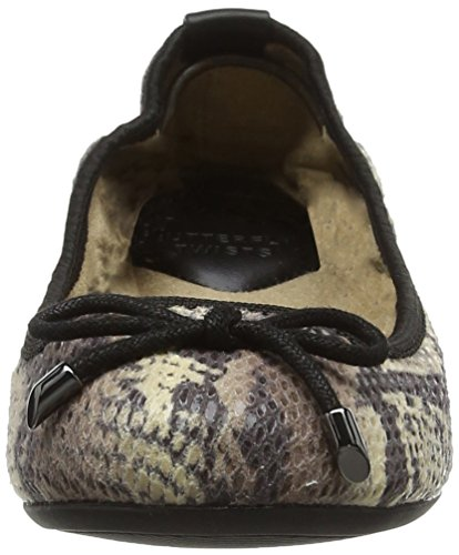 Damen Stone Butterfly Ballerina Twists Francesca Beige vP5Pq