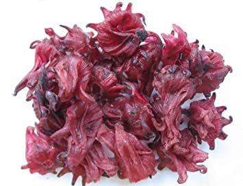 Amazoncom Organic Dried Hibiscus Flowers 130 G 1 Package