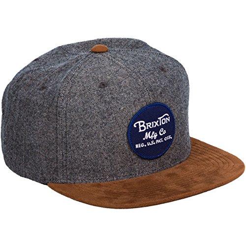 Brixton Men's Wheeler Medium Profile Adjustable Snapback Hat