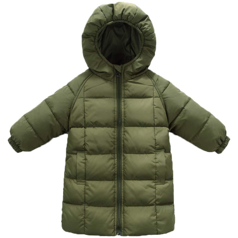 ARAUS Girls Winter Puffer Coat Down Jacket Overcoat Hoodie